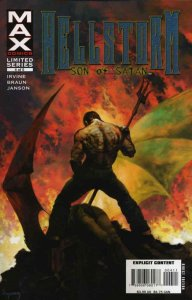 Hellstorm: Son of Satan #4 FN; Marvel | save on shipping - details inside