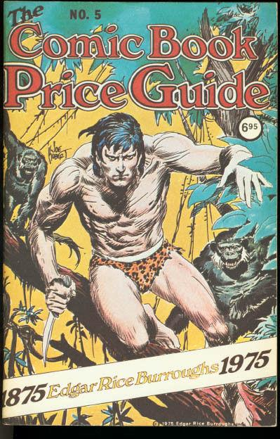 OVERSTREET COMIC BOOK PRICE GUIDE #5-TARZAN-JOE KUBERT VF/NM