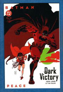 BATMAN DARK VICTORY #13, NM,  Jeph Loeb, Tim Sale, DC, 1999, more in store