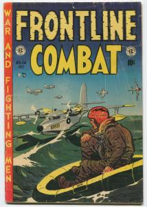 FRONTLINE COMBAT #14 EC Comics ID#73Q