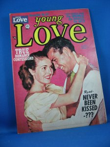 YOUNG LOVE Vol 3 # 10 VF+ 1951 Photo Cover