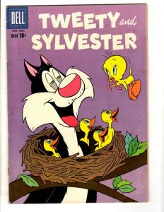 Tweety & Sylvester # 26 FN 1959 Dell Silver Age Comic Book Cat Mouse JL10