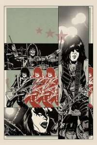 KISS END (2019 DYNAMITE) #5 VARIANT 1:20 FORNES VIRGIN INCV PRESALE-09/11