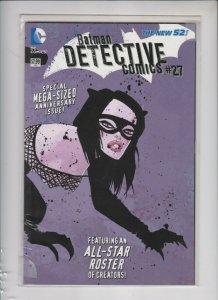 BATMAN DETECTIVE #27 THE NEW 52 DC / TPB MEGA SIZED / MILLER VARIANT / NM/+