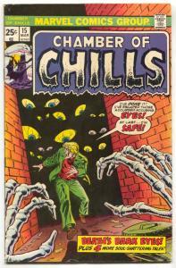 Chamber of Chills #15 1975- Marvel Horror comic book VG