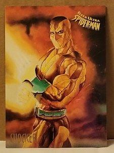 1995 Fleer Ultra Spider-Man #50 Shocker