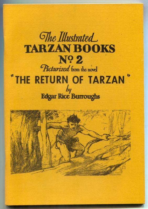 Illustrated Tarzan Books Fanzine #2 1960- RETURN OF TARZAN