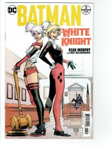 Batman White Knight #3 NM 1st print Variant First Appearance Neo Joker comic