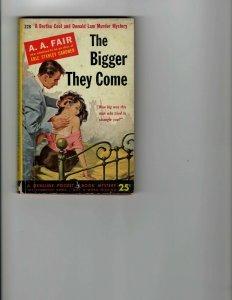 3 Books The Bigger They Come The Big Kill White Fawn Murder Mystery JK8