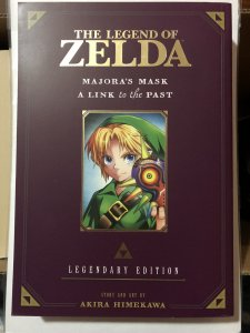 The Legend of Zelda: Majoras Mask: a Link to the Past Legendary Edition NM