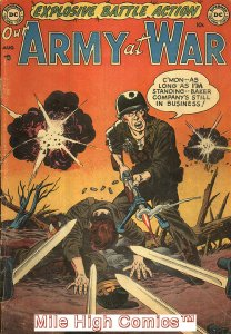 OUR ARMY AT WAR (1952 Series) #1 Very Good Comics Book