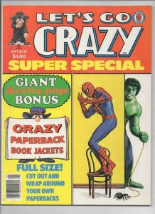 CRAZY #42 Magazine, VF, Spider-man, Hulk, Super Special, 1973 1978 more in store