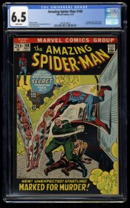 Amazing Spider-Man #108 CGC FN+ 6.5 White Pages Marvel Comics Spiderman