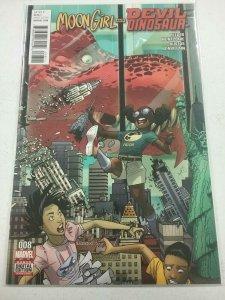 Moon Girl and Devil Dinosaur #8 - Marvel 2016 - NM NW58