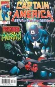 Captain America: Sentinel of Liberty #3, NM (Stock photo)