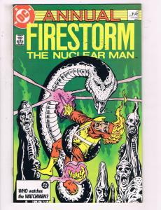 Firestorm The Nuclear Man Annual #4 VF DC Comics Flash TV Comic Book DE21