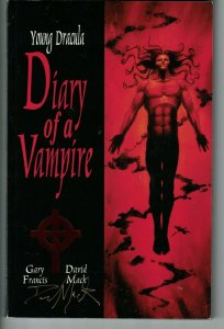 Young Dracula: Diary of a Vampire TPB VF graphic novel signed by David Mack