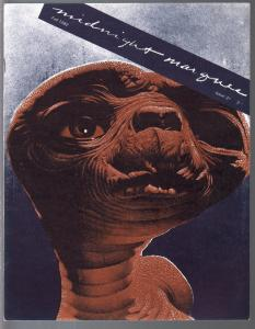 Midnight Marquee #31 1982-ET cover-horror fanzine-Halloween films-VF/NM