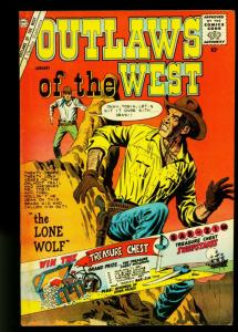 Outlaws of the West #29 1960- Lone Wolf- Charlton Western- VG
