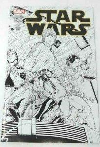 Star Wars #001 Variant QUESADA Wrap SKETCH Cover 2015 1:500 Marvel