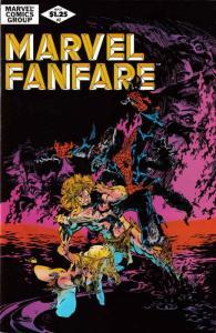 Marvel Fanfare #2 VF; Marvel | save on shipping - details inside