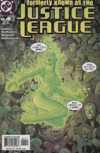 Formerly Known as the Justice League #4 VF/NM; DC | save on shipping - details i