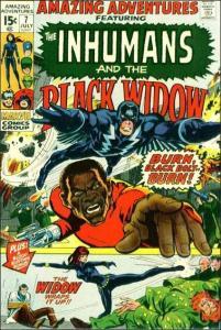 Marvel AMAZING ADVENTURES (1970 Series) #7 VG+