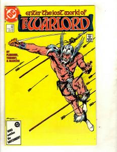 12 Warlord DC Comics # 110 111 112 113 114 115 116 117 118 119 120 121 GK20