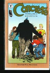 Concrete: Think Like a Mountain #5 (1996)