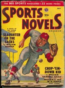 Sports Novels 5/1950-Popular-baseball-boxing-football-VG