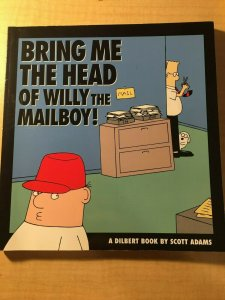 Bring me the Head of the Mailboy by Scott Adams Book Office Humor Parody MFT2