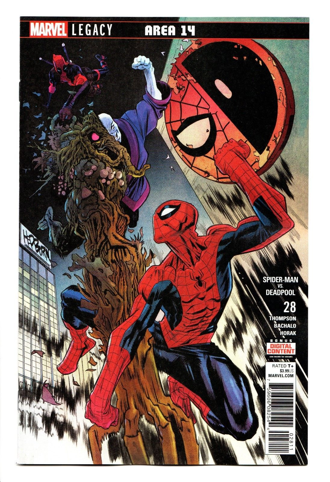 Spider-Man Deadpool #36 NM 2018 Stock Image