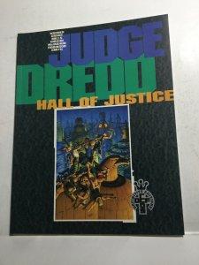 Judge Dredd Hall Of Justice Nm Near Mint Definitive Edition