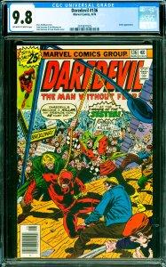 Daredevil #136 CGC Graded 9.8 Jester appearance.