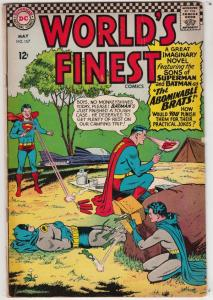 World's Finest #157 (May-66) FN- Mid-Grade Superman, Batman, Robin