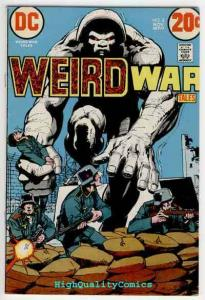 WEIRD WAR Tales #8, VG+, Neal Adams, Duel of the Dead, 1971,more Horror in store