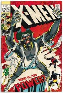 X-Men #56 (1969) FN-VF