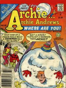 Archie…Archie Andrews, Where Are You? Digest Magazine #80 VF; Archie | save on s