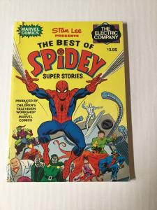 The Best Of Spidey Super Stories Fireside Tpb Fine Fn 6.0 Electric Company