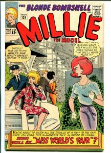 Millie the Model #124 1964-Marvel-NY World's Fair-paper dolls-fashions-VF-