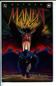 Batman Manbat-Jamie DeLano-Book 1