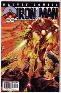 Iron Man (vol. 3, 1998) #45/390 FN/VF (Big Bang Theory 4) Tieri/Grant, MODOK