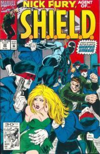 Nick Fury: Agent of SHIELD (1989 series) #32, NM- (Stock photo)