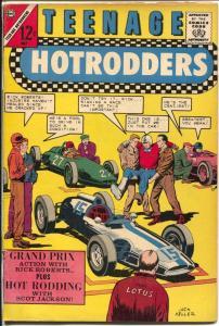 Teenage Hotrodders #7 1964-Charlton-Monza Grand prix Race-super modifieds-VG