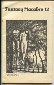 Fantasy Macabre #12 1989-pulp type fiction in a fanzine format-VG