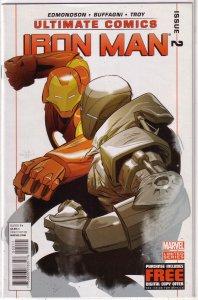 Ultimate Comics Iron Man #2 VF/NM Edmonson/Buffagni