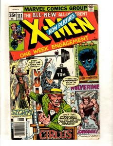 Uncanny X-Men # 111 VG/FN Marvel Comic Book Phoenix Storm Cyclops Wolverine DJ1