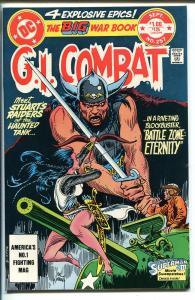 G.I. COMBAT #257 1983-DC-HAUNTED TANK-GLANZMAN-GIANT EDITION-VIKING-KUBERT-nm