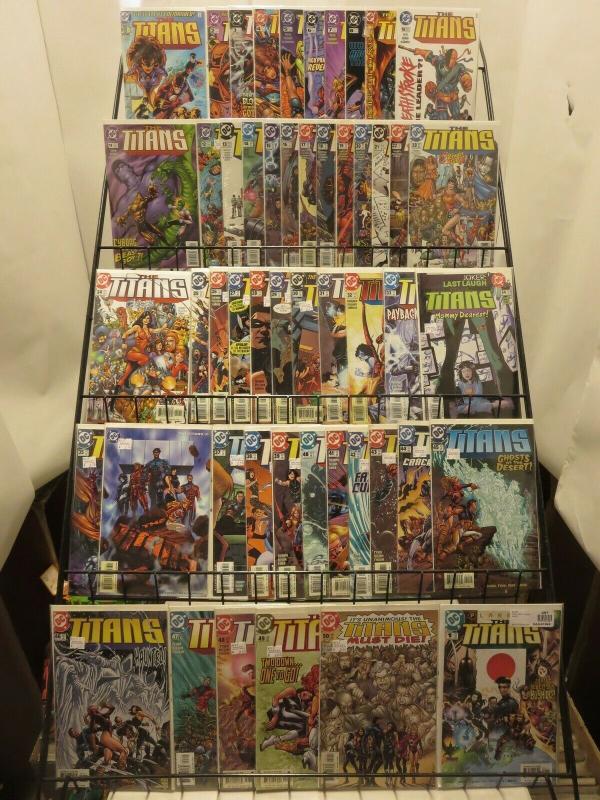 TITANS (1999) 1a,2-50,Annual  NIGHTWING & crew! COMICS BOOK