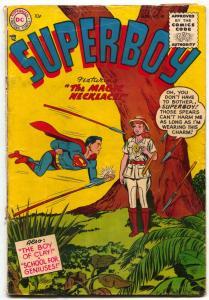 Superboy #40 1955 DC Comics-Magic Necklace G